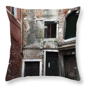 Doors Of All Sizes Throw Pillow