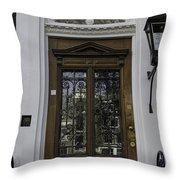 Doors Of Amsterdam 01 Throw Pillow