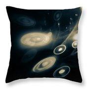 Doors Of The Universe Throw Pillow