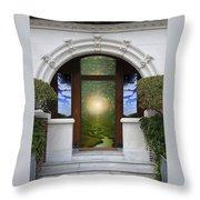 Doorway 10 Throw Pillow
