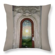 Doorway 17 Throw Pillow