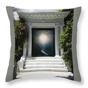 Doorway 19 Throw Pillow