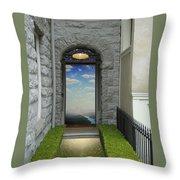 Doorway 2 Throw Pillow