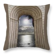 Doorway 22 Throw Pillow