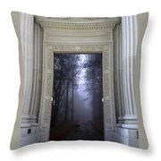 Doorway 24 Throw Pillow