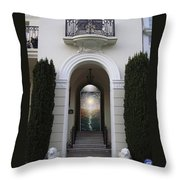 Doorway 6 Throw Pillow