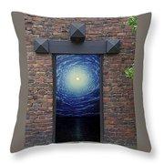 Doorway 9 Throw Pillow