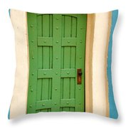 Doorway In The Hollywood Hills Throw Pillow