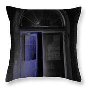Doorway Into The Dark Throw Pillow