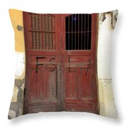 Doorway Of Nicaragua 006 Throw Pillow