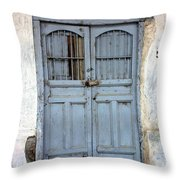 Doorway Of Nicaragua 007 Throw Pillow