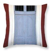 Doorway Of Nicaragua 010 Throw Pillow