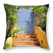 Doorway To Paradise Throw Pillow