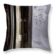 Doorway To The Unknown Throw Pillow