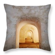 Doorways Throw Pillow
