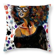 Dope Chic Throw Pillow