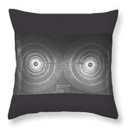 Doppler Effect Parallel Universes Throw Pillow