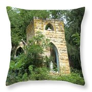 Dorchester Grotto Throw Pillow
