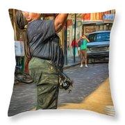 Doreen Ketchens - Paint Throw Pillow