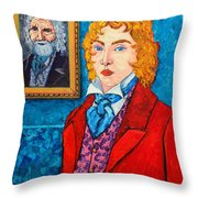 Dorian Gray Throw Pillow