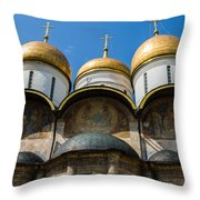 Dormition Cathedral - Square Throw Pillow