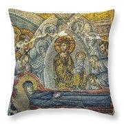 Dormition Of The Virgin Throw Pillow