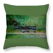 Dornier 328 Usairways Psa Throw Pillow