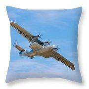 Dornier Do-24 Throw Pillow