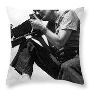 Dorothea Lange (1895-1965) Throw Pillow