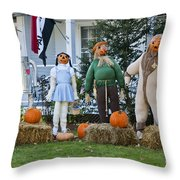 Dorothy And Friends Throw Pillow