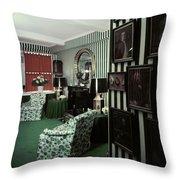 Dorothy Draper's Study Throw Pillow