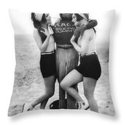 Dorothy Sebastian And Crawford Throw Pillow