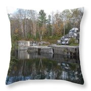 Dorset Quarry Throw Pillow