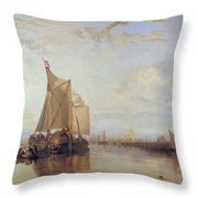 Dort Or Dordrecht Throw Pillow