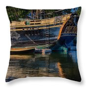 Dory Along Side  Throw Pillow