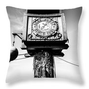Dory Fleet Crow's Nest Black And White Picture Throw Pillow