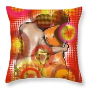 Dos Throw Pillow