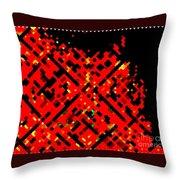 Dot Invasion Throw Pillow