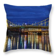 Double Agent Throw Pillow
