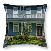 Double Barreled Shotgun Throw Pillow