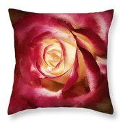 Double Delight Beauty Throw Pillow