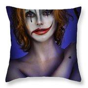 Double Face Throw Pillow by Alessandro Della Pietra