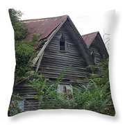 Double Gabled Throw Pillow