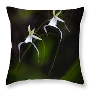 Double Ghost Throw Pillow