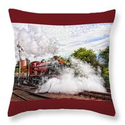 Double Header Throw Pillow
