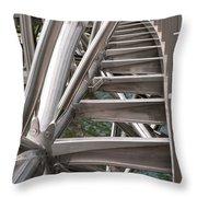 Double Helix Bridge 03 Throw Pillow