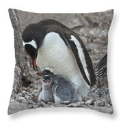 Double Love... Throw Pillow