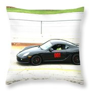 Double O One Throw Pillow