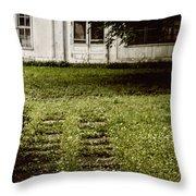Double Path Throw Pillow