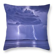 Double Reflection Throw Pillow
